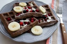 Healthy Cake, Atkins Diet, Paleo, Low Carb Recipes, Waffles, Healthy Lifestyle, Food Porn, Food And Drink, Breakfast