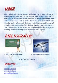 Physics investigatory project on rectifier savy pinterest thank you solutioingenieria Gallery