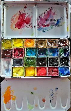 Hudson Valley Sketches: More Watercolor and Gouache Palette Talk