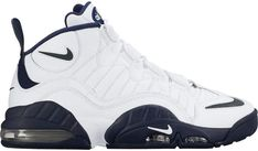 Buy and sell authentic Nike Air Max Sensation White Midnight Navy shoes and thousands of other Nike sneakers with price data and release dates. Nike Air Shoes, Air Jordan Shoes, Sneakers Nike, Converse Basketball Shoes, Nike Basketball, Nike Air Max Retro, Tenis Retro, Ella Shoes, Baskets
