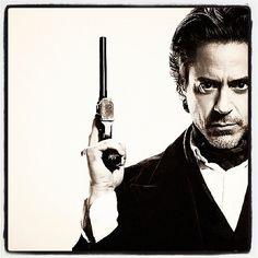 Robert Downey jr. aka Sherlock Holmes