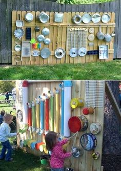 Backyard playground ideas for toddlers Backyard playground music wall child . - Backyard playground ideas for toddlers Backyard playground music wall child …, - Diy Playground, Playground Design, Children Playground, Backyard For Kids, Backyard Projects, Diy For Kids, Garden Projects, Diy Projects, Backyard Beach