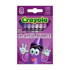 Crayola Limited Edition Tip Collection Vigorous Hues Playful Purple... ($26) ❤ liked on Polyvore featuring toys