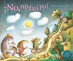 """Las maravillosas ilustraciones de Ivar Da Coll. """"¡No, no fui yo!""""."""