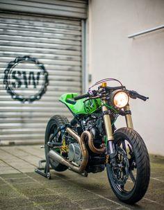 MotArt: Schlachtwerk Motorrad #motorcycles #caferacer #motos | caferacerpasion.com