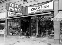 Auto Parts Store Great Signs