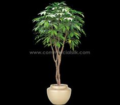 Artificial Chestnut Tree (Green) - Commercial Silk Int'l