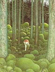 Dans la Forêt Moussue...