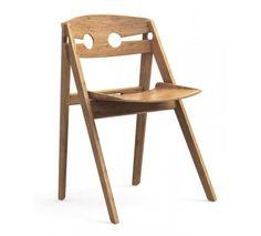 We Do Wood - Spisebordsstol - Lys træ - Spisebordsstol i lyst træ