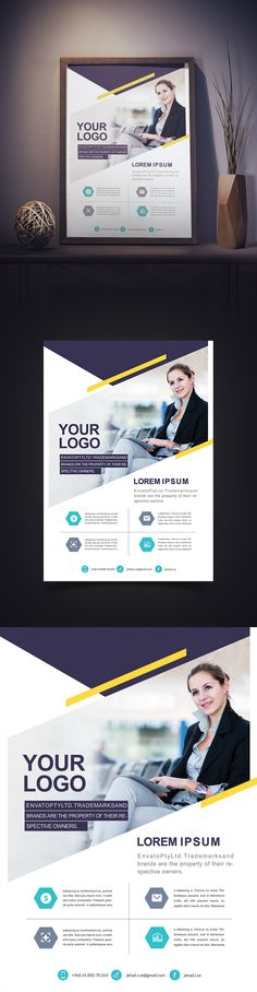 Corporate Flyer Beautiful on Behance