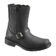 Harley-Davidson Men's Black Troy Boots