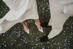 "Weddings & Celebrations on Instagram: ""𝐓𝐮𝐞𝐬𝐝𝐚𝐲 𝐒𝐡𝐨𝐞𝐬𝐝𝐚𝐲!  "" Bridal Shoes, Wedding Shoes, Celebrity Weddings, Tuesday, Most Beautiful, Bride, Celebrities, Instagram, Bride Shoes Flats"