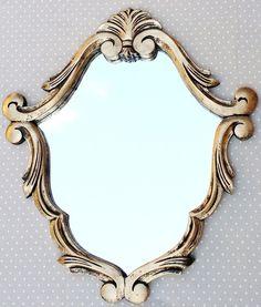 Espelho Barrok Veneziano Ouro Velho