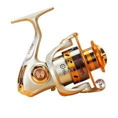 PREMIUM EF-7000 Spinning Reel 12 1 Ball Bearings Freshwater Saltwater Fishing