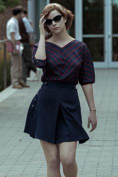 1960s Fashion, Look Fashion, Vintage Fashion, Fashion Outfits, Fashion Clothes, Anya Joy, Anya Taylor Joy, Looks Chic, Looks Style