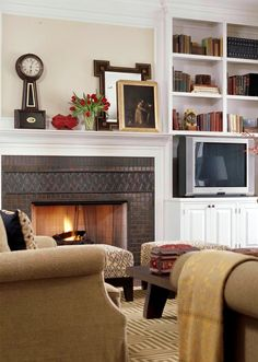 New Home Interior Design: Decorating Gallery: Family Rooms