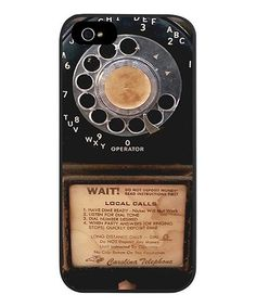 Love this. :: Vintage Payphone Case for iPhone 5/5s
