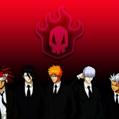 Soul Society : Available as Cards, Prints, Posters, T-Shirts & Hoodies, Kids Clothes, Stickers, iPhone & iPod Cases, and iPad Cases and Samsung Case   #bleach #anime #soulsociety #manga