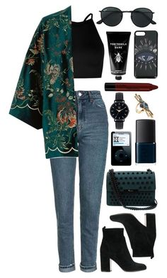 A fashion look from January 2018 featuring petite tops, River Island and blue jeans. Browse and shop related looks. Retro Outfits, Mode Outfits, Cute Casual Outfits, Stylish Outfits, Fall Outfits, Fashion Outfits, Womens Fashion, Latest Fashion, Fashion Clothes