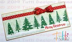 Tutti Designs: Let it Snow! A Slimline Christmas Card by Jenn DuBell Let It Snow, Let It Be, Design Projects, Christmas Cards, Christmas Greetings Cards, Xmas Cards, Snow, Christmas Greetings, Merry Christmas Card