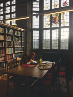 Imagen de library, book, and study