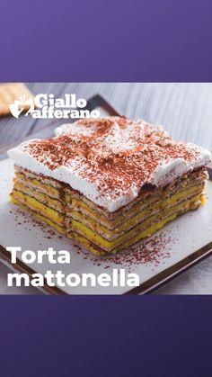 """""""Mi piace"""": 6,065, commenti: 44 - Giallozafferano (@giallozafferano) su Instagram: """"Strati e strati di biscotti e crema pasticcera 😍 Guarda il video di @manucookandrock e prepara…"""""""