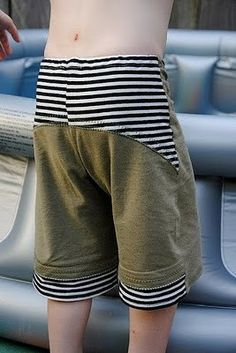cute kid's pants with pattern and tutorial