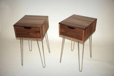 End Table With Metal Legs Kely