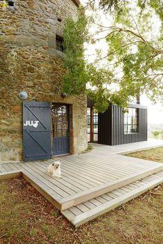 Maison renovée bretagne : un moulin d'artiste à Saint-Briac - CôtéMaison.fr