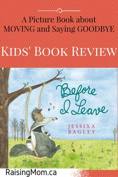 Before I leave | kids book review | children | picture book | animals | hedgehog | anteater | moving | moving away | friends | friendship | kindness | emotions | feelings | raisingmom.ca | saying goodbye | leaving