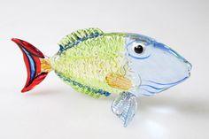 Underwater Handicraft MINIATURE HAND BLOWN GLASS Fish FIGURINE Collection