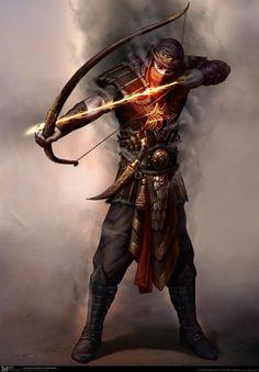 Persian Archer Phantom (sketch) - 3D Ace Studio