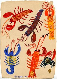 Crab & Lobsters (B) by Christopher Corr