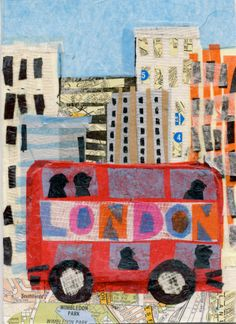 London Bus Ride by Tracey English www.tracey-english.blogspot.co.uk