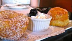 Classic Simplicity--a favorite treat; our cinnamon sugared doughnuts!