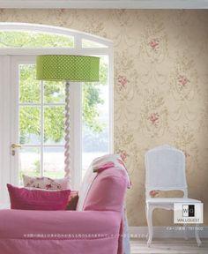 『Import Wallpaper TECIDO THE BLOOMING HOUSE5 WALLQUEST TB11502』 http://item.rakuten.co.jp/interior-cozy/tb11502/ #wallpaper #interior #diy #usa #輸入壁紙 #壁紙