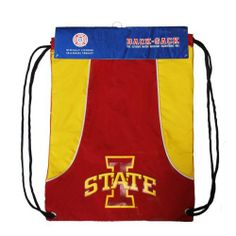 NCAA Iowa State Cyclones Axis Backsack by Concept 1. $18.68. The Backsack is a lightweight and durable bag, convenient to take along for different activities and carry your gear while sporting your favorite team. Save 53%!
