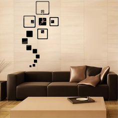 Creating a beautiful home require effort and decoration. We have a product for you that will definitely enhance your home decorator. We have 17 Square Box Design Acrylic Wall clock in our store. This beautiful black colored wall clock will look magnificent on your white wall. It is made of acrylic material and is very easy to paste. The pasting process is not at all messy. The design is seventeen boxes with different sizes and patterns. It is easily removable and will not damage your wall…
