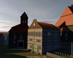 3d Rekonstruktion des Solinger Rathaus.