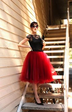 How To Wear a Tulle Skirt Ideas Don't save the awesome stuff for just weddings or funerals.