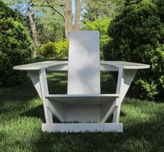 Adirondack + Rietveld Chairs, For Outside Or In, To DIY Or Buy