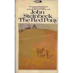 The Red Pony by John Steinbeck, not a happy story in case you are wondering but very well written.