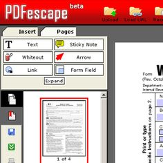 Create forms you can fill out of ordinary PDFs. This is free, but limited by size, and the number of pages.