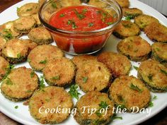 Cooking Tip of the Day: Zucchini Chips
