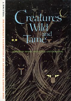 Charley Harper - Creatures Wild And Tame cover, 1963