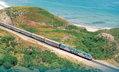 The Coast Starlight Is the Most Beautiful Train Ride in America - Best Amtrak Train Lines Vacation Destinations, Vacation Spots, Vacation Ideas, Vacation Places, Texas Vacations, Dream Vacations, Train Rides For Kids, Coast Starlight Train, Places To Travel