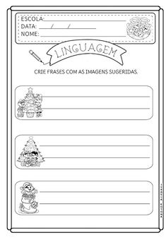 Educação infantil facil: 2020 Nova, Pasta, David, Christmas Activities, Teaching Reading, Simple Crochet, Pasta Recipes, Pasta Dishes