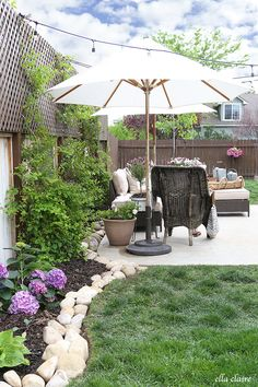 Summer Patio Makeover | Tour