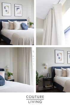 Head over to our blog to find out about our recent collaboration with Topology Interiors and how we helped them create this pink and blue stylish bedroom with made to measure ivory curtains.