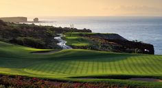The spectacular Manele Golf Course, Lanai, Hawaii